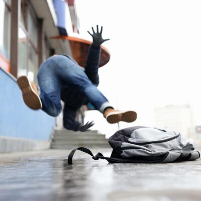 what to do after you slip and fall